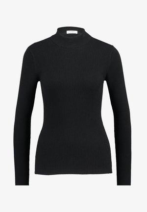 JDYMARYAN HIGH NECK - Strickpullover - black