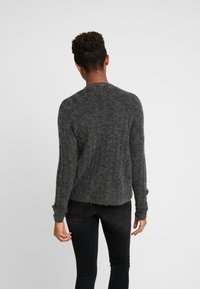 JDY - JDYNINE BUTTON CARDIGAN - Cardigan - dark grey melange - 2