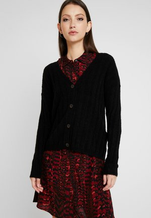 JDYNINE BUTTON CARDIGAN - Strikjakke /Cardigans - black
