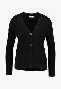 JDY - JDYNINE BUTTON CARDIGAN - Neuletakki - black - 3