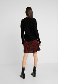 JDY - JDYNINE BUTTON CARDIGAN - Neuletakki - black - 2