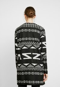JDY - JDYFLACA CARDIGAN - Kofta - black/cloud dancer