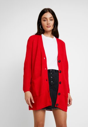 Strickjacke - goji berry