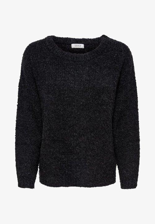 JDY Sweter - dark grey melange Odzież Damska GVIP-GO7 oferta