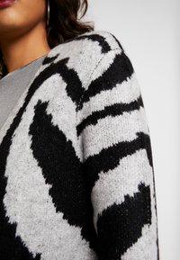 JDY - JDYALICIA - Vest - light grey melange/black - 5