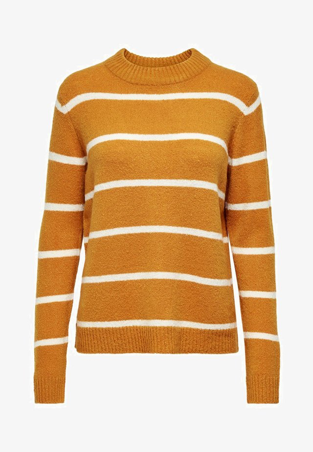 JDYBLAKE TREATS - Sweter - inca gold