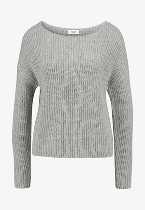 JDYMEGAN TREATS - Pullover - light grey melange
