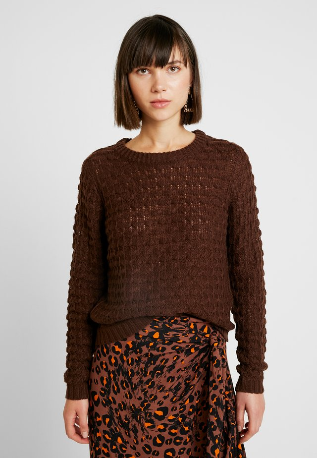 Strickpullover - chicory coffee