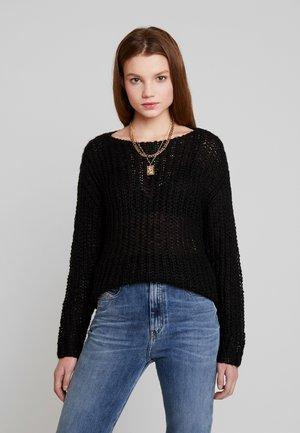JDYHOLLIS - Jersey de punto - black
