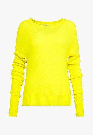 JDYFAVORITE - Strickpullover - neon yellow