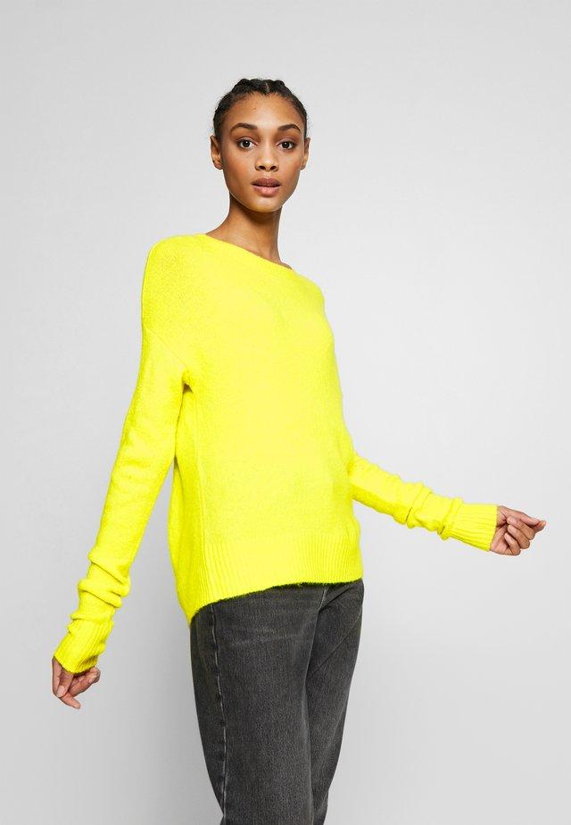 JDYFAVORITE - Strikpullover /Striktrøjer - neon yellow