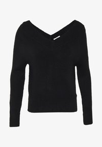 JDY - JDYSTACEY CPOPPED - Jumper - black - 4
