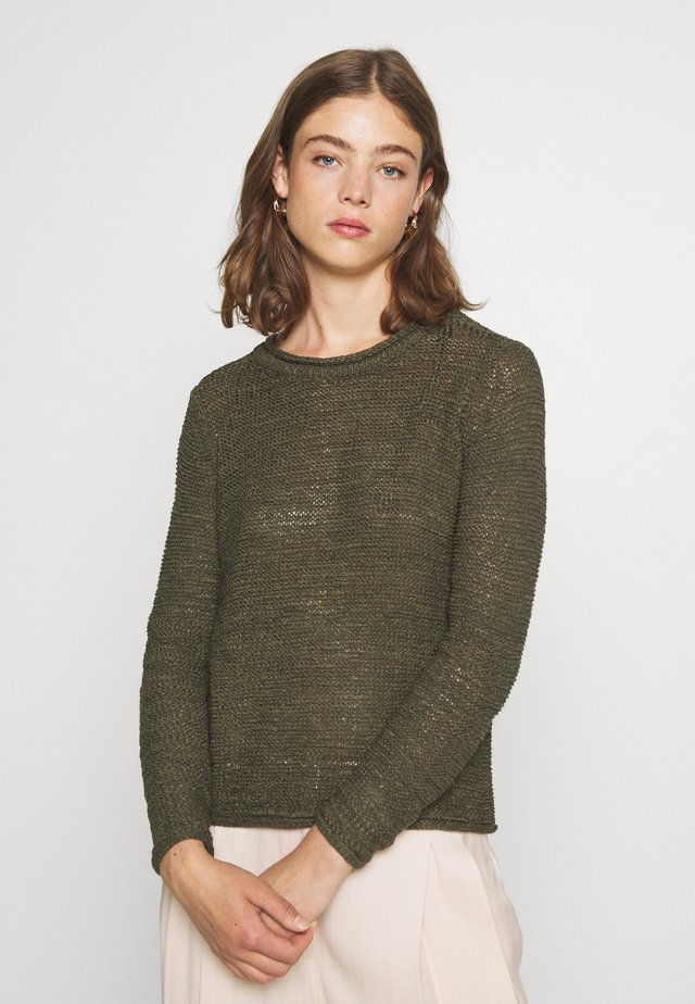 JDYMICHELLE SOLID - Strickpullover - forest night