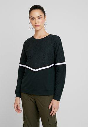 JDYALMA - Sweatshirt - scarab/lace