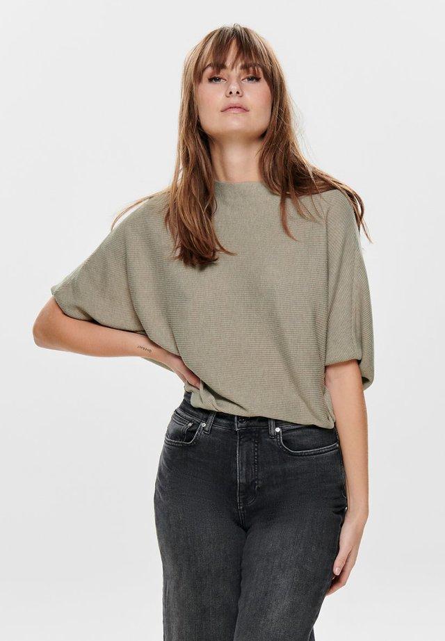 JACQUELINE de YONG - T-shirt print - light grey