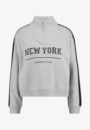 Sweatshirt - light grey melange/new york