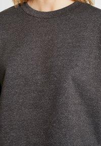 JDY - JDYFREYA CROPPED - Bluza - dark grey melange - 5