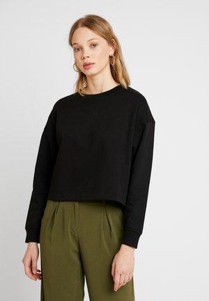 JDYFREYA CROPPED - Sweatshirt - black