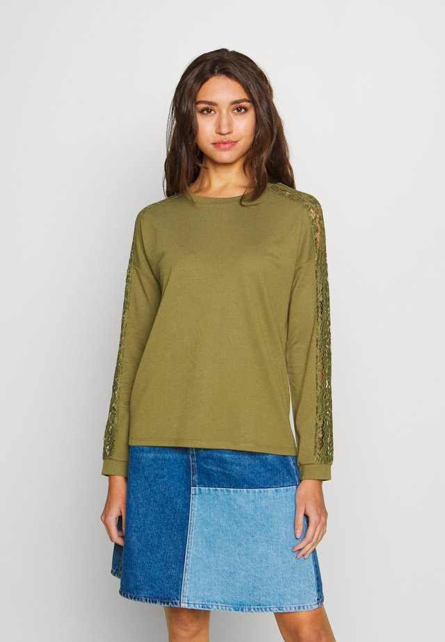 JDYWILMA - Long sleeved top - martini olive