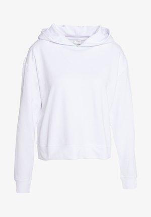 JDYFUNILLA LIFE - Bluza z kapturem - white