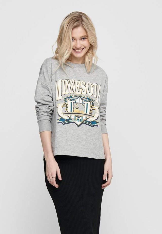 Sweatshirts - light grey melange