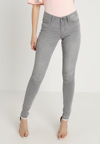 JDY - JDYJAKE SKINNY  - Jeans Skinny Fit - grey denim - 0