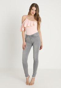 JDY - JDYJAKE SKINNY  - Jeans Skinny Fit - grey denim - 1