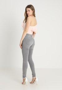 JDY - JDYJAKE SKINNY  - Jeans Skinny Fit - grey denim - 2