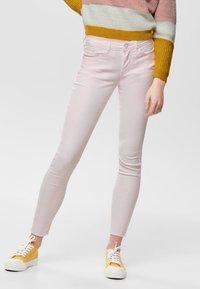JDY - NEW FIVE REG ANKLE - Jeans Skinny Fit - shrinking violet - 0