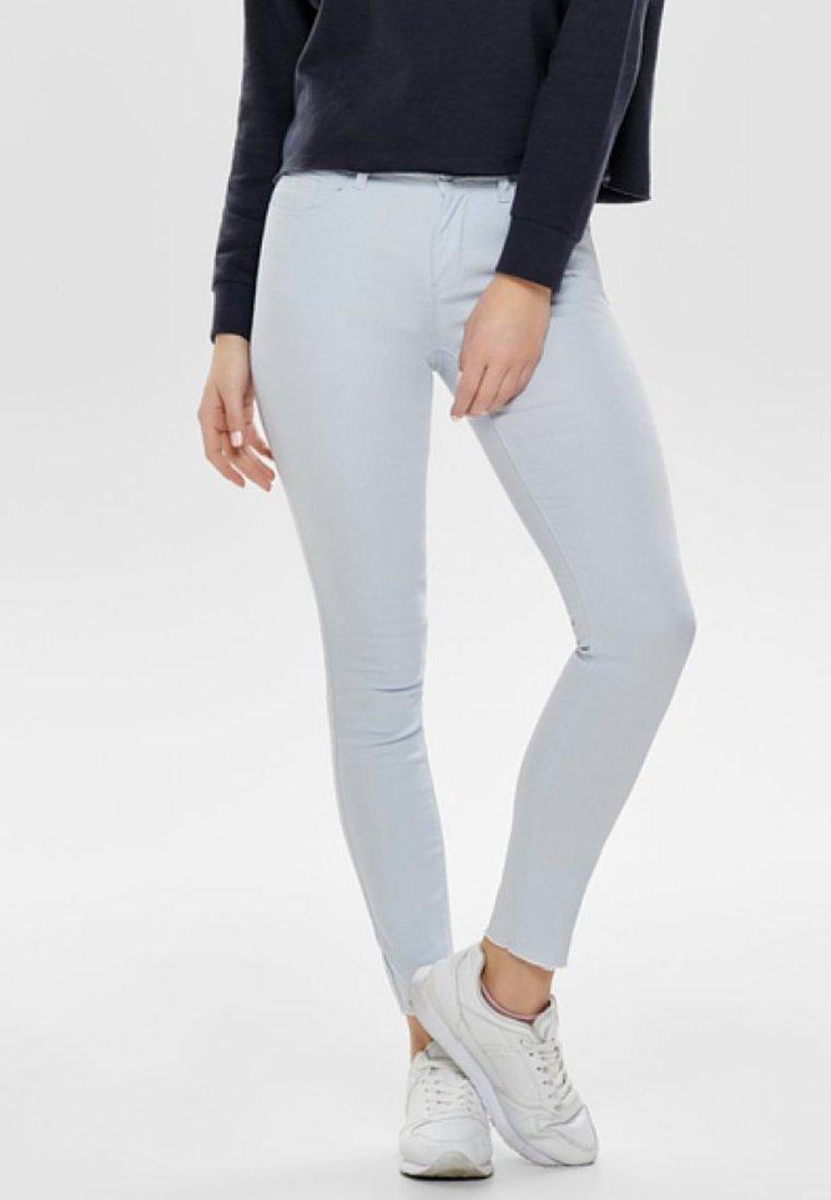 JDY - NEW FIVE REG ANKLE - Jeans Skinny Fit - light blue