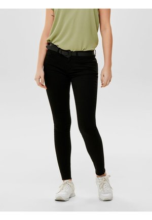 NEW FIVE REG ANKLE - Jeans Skinny Fit - black