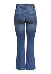 JDY - FLORA  - Flared Jeans - medium blue denim - 1