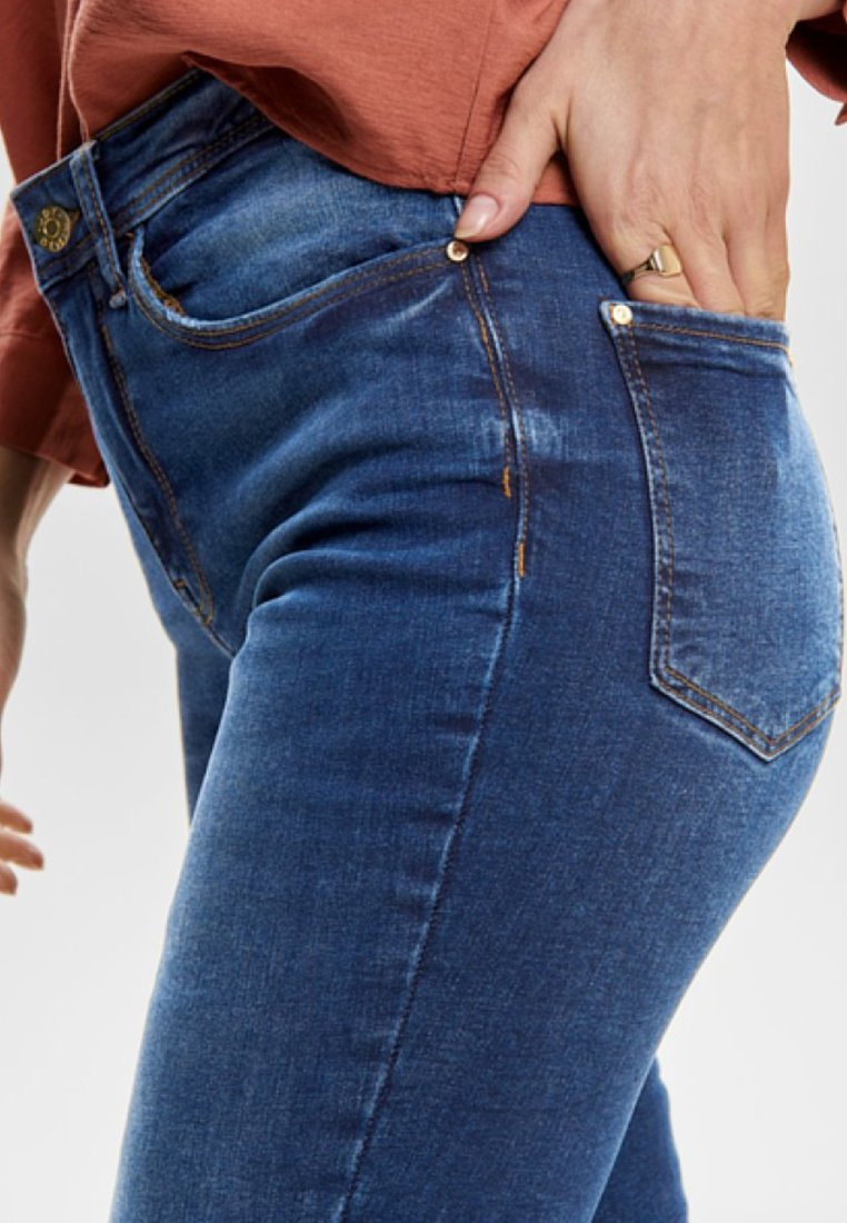 JDY Jeansy Skinny Fit - medium blue denim