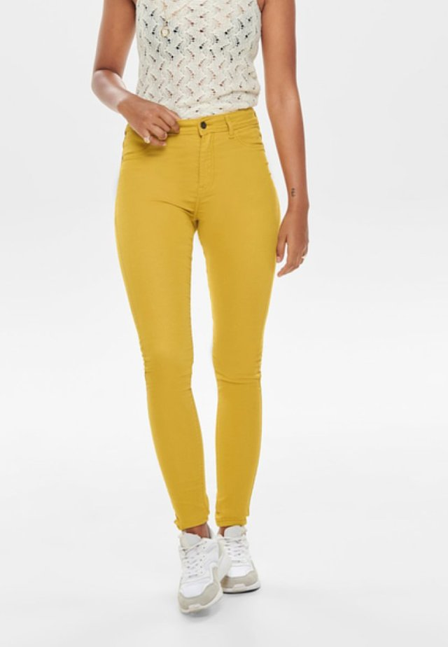 LARA - Jeansy Skinny Fit - harvest gold
