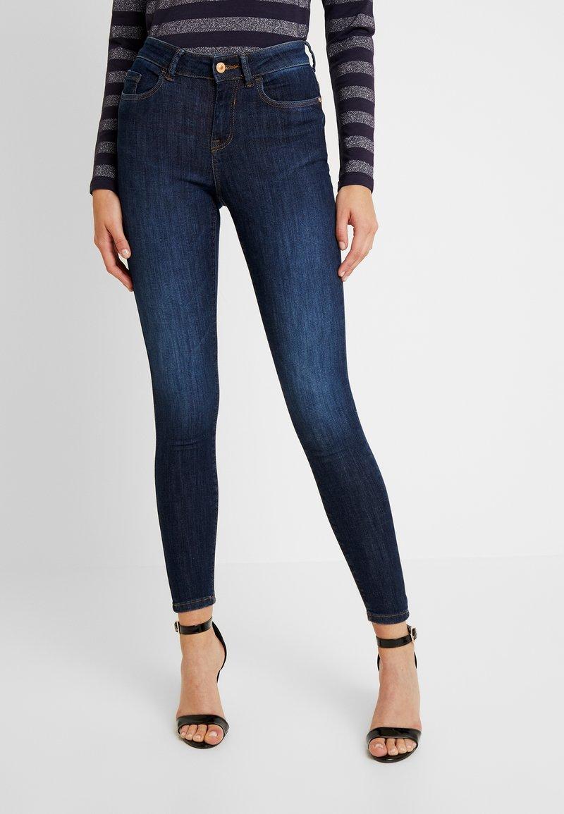 JDY - JDYKNIGHT - Jeans Skinny Fit - dark blue denim