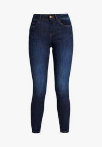 JDY - JDYKNIGHT - Vaqueros pitillo - dark blue denim