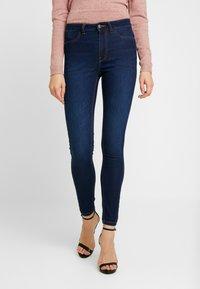 JDY - Skinny džíny - dark blue denim - 0