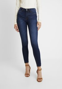 JDY - Jeans Skinny Fit - dark blue denim - 0