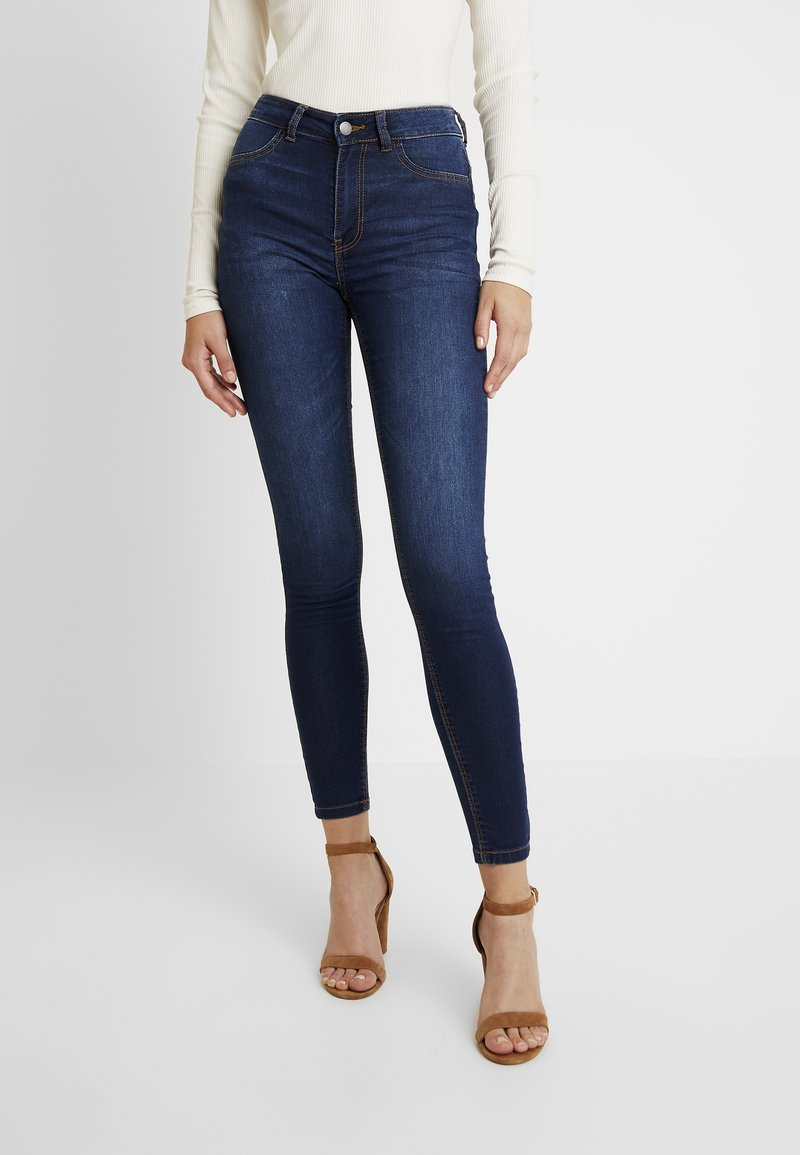 JDY - Jeans Skinny Fit - dark blue denim