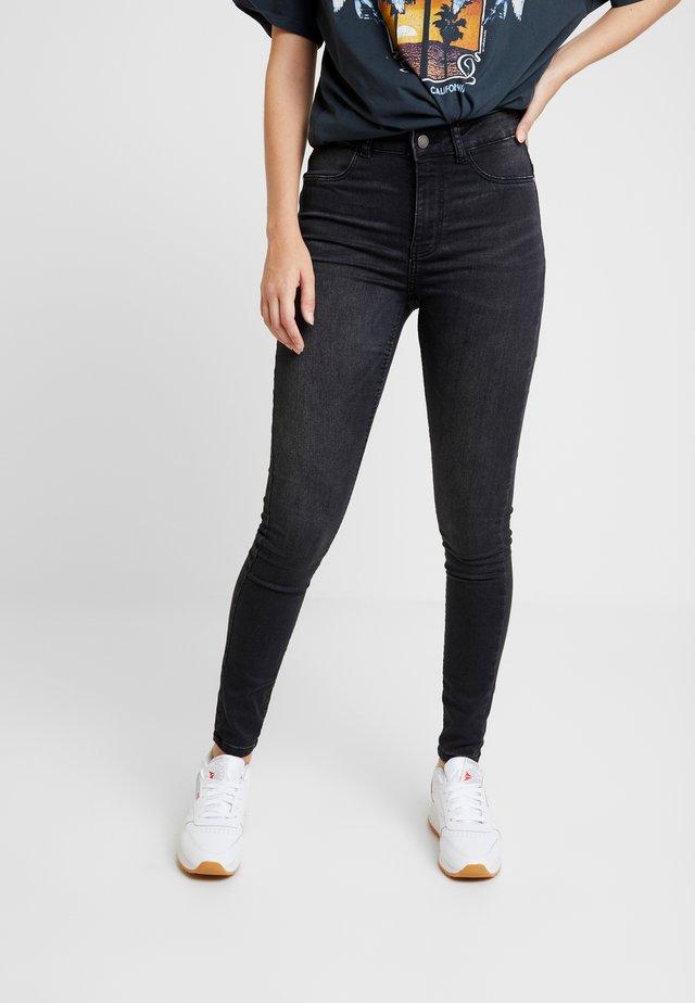 JDYNIKKI JEGGING HIGH GREY DNM NOOS - Jeans Skinny Fit - grey denim