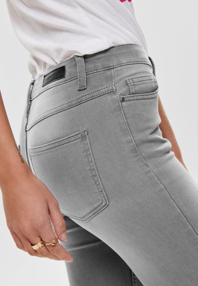 JDY Jeansy Skinny Fit - light grey denim