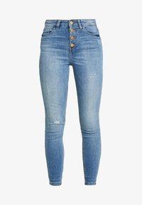 JDY - JDYJONA HIGH FLY - Jeans Skinny Fit - light blue denim - 4
