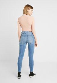 JDY - JDYJONA HIGH FLY - Jeans Skinny Fit - light blue denim - 2