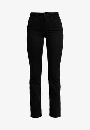 JDYNIKKI - Flared Jeans - black denim