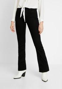 JDY - JDYNIKKI - Jeans a zampa - black denim - 0