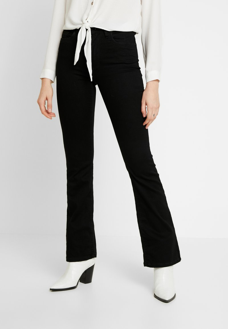 JDY - JDYNIKKI - Jeans a zampa - black denim