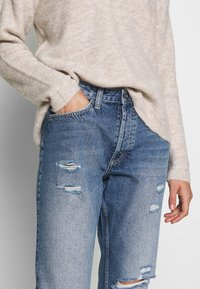 JDY - JDYSELMA - Relaxed fit jeans - medium blue denim - 4