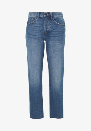 TUBA LIFE GIRLFRIEND CROPPED - Jeansy Relaxed Fit - medium blue denim