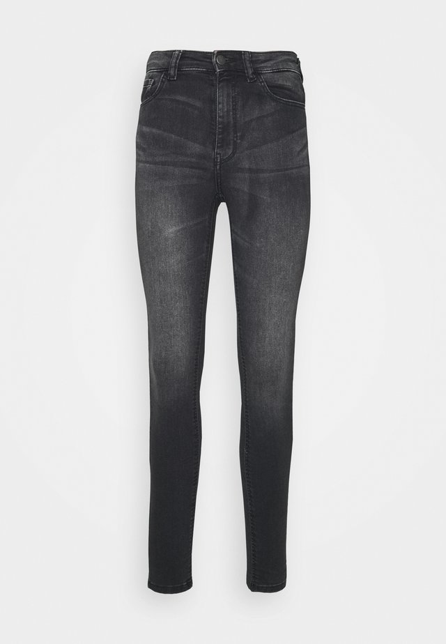 JDYNEWNIKKI LIFE HIGH - Jeans Skinny Fit - dark grey denim