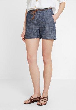 JDYLUCKY BELT - Shorts - navy blazer